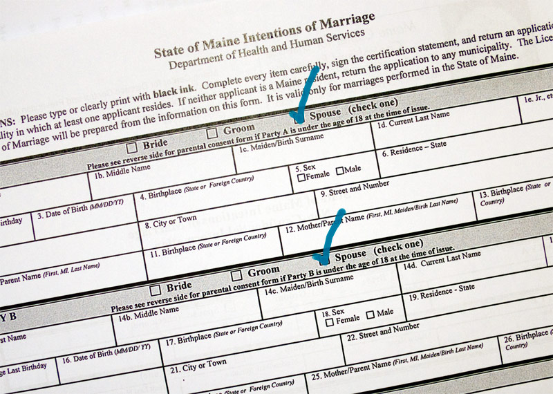 Same-sex marriage licenses: where and when to get one   PenBay Pilot