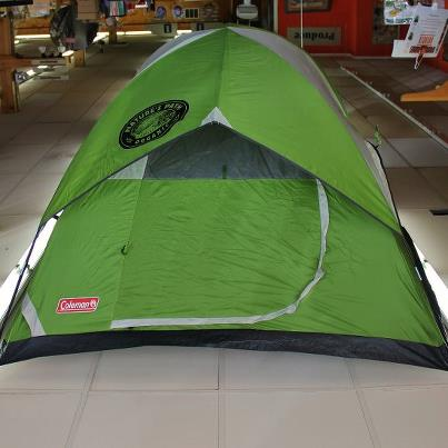 Coleman Sundome 3 person c&ing tent & You need to enter to WIN! | PenBay Pilot