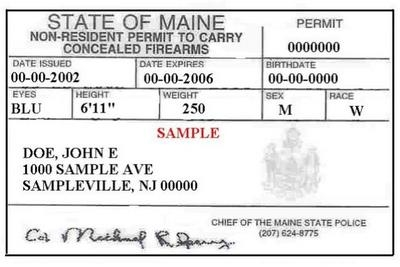 Talking about guns penbay pilot for Maine non resident fishing license