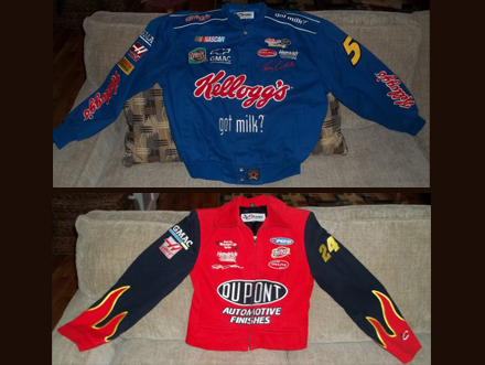 af266cc6ea2 Nascar jackets (Biddeford) -- FREE Chase Authentics Men s blue Nascar  jacket (Large) and Ladie s red Nascar jacket (Small). Excellent condition!