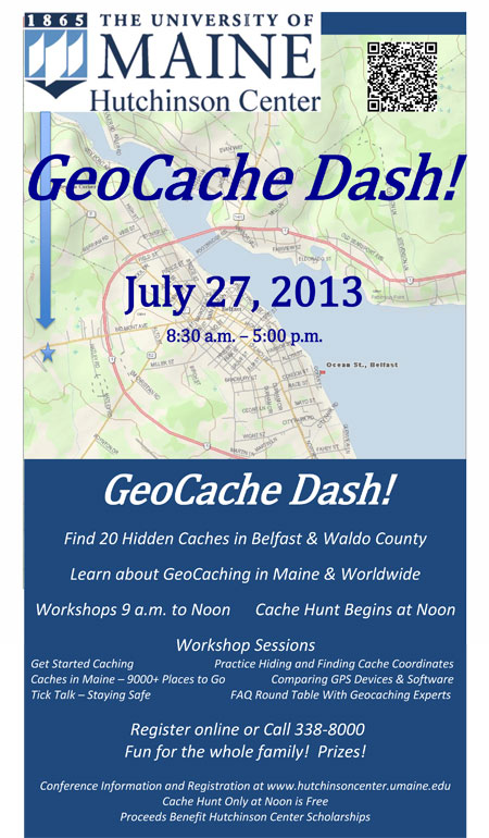 Hunt For Treasure In The Geocache Dash Boothbay Register
