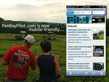 Penobscot Bay Pilot Goes Mobile Friendly Penbay Pilot