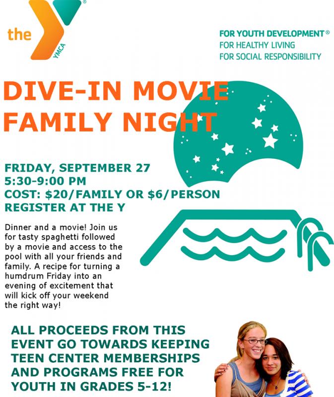 Dive in movie family night penbay pilot - Dive in movie ...