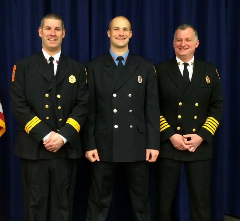Rockport Fire Chief Camden Firefighter Complete Fire
