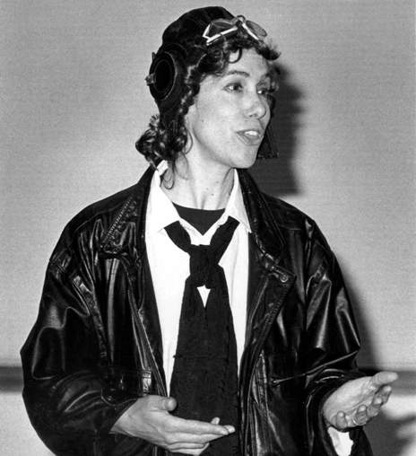 Renowned character reenactor to portray Amelia Earhart in ...