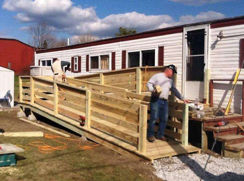 Nonprofit local builders construct wheelchair accessible for Handicap accessible home builders