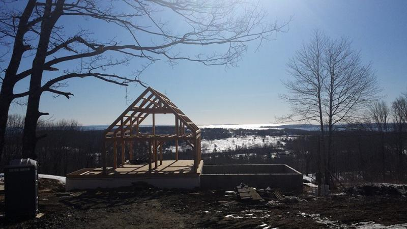Watch Dodge Mountain Road Rockland Maine Timber Frame