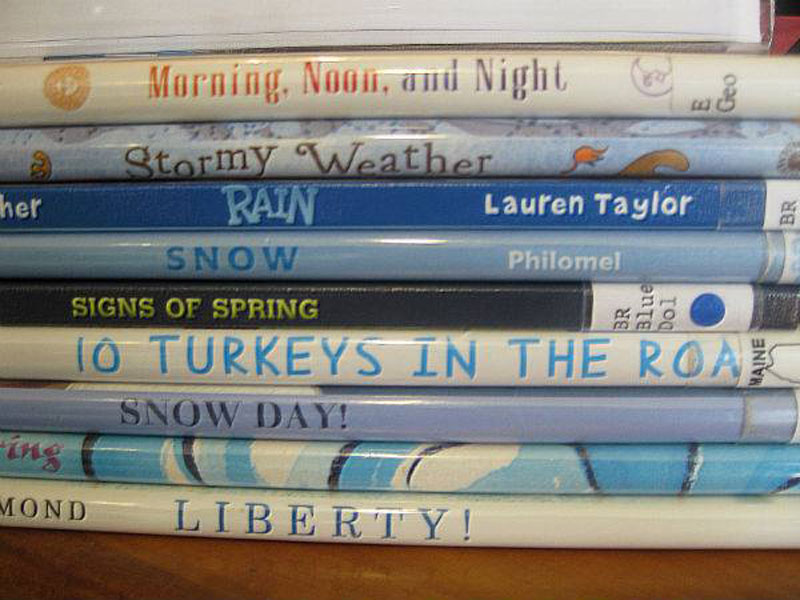 Stormy Weather For Public Libraries And >> Local Libraries Create Spine Poetry Poems Made Out Of Stacked