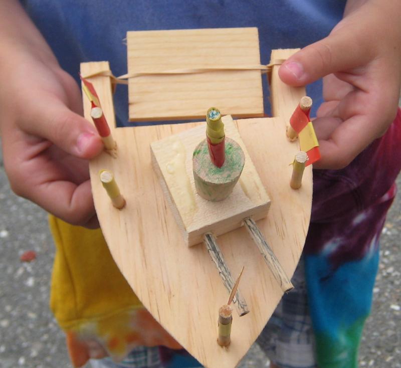 Toy boat building at the Waldoboro Farmers Market   PenBay Pilot
