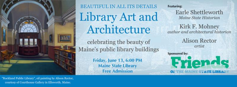 Rockland Library featured in special event at the Maine ...