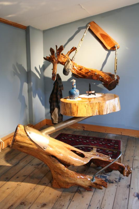 One Of A Kind Furniture Applewood Coat Rack By Local Joel Cox Penbay Pilot