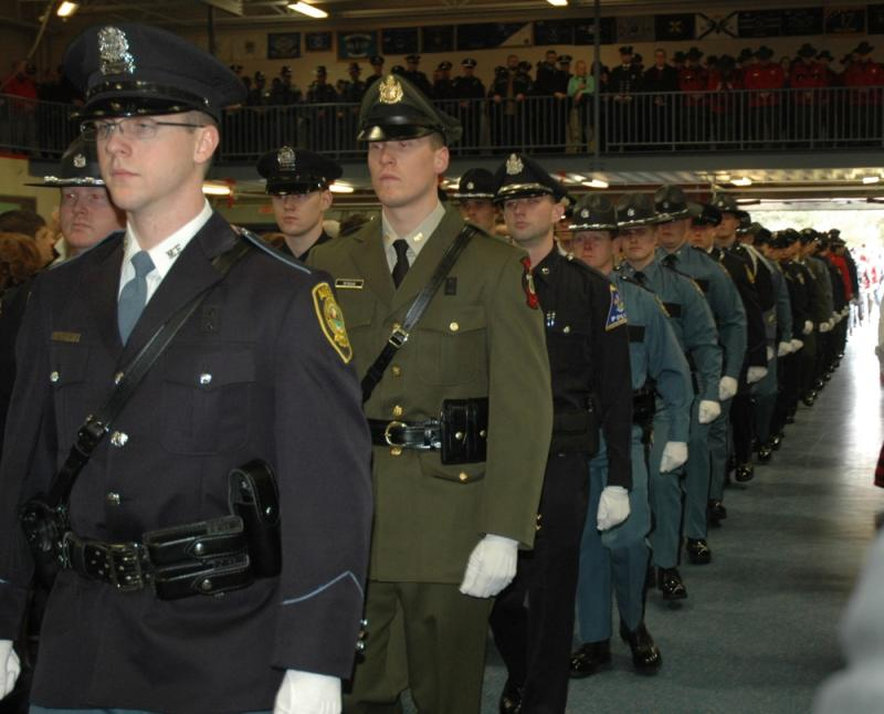 Camden Rockport Waldoboro Officers Graduate Police