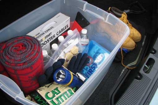 Blizzard plow emergency kit