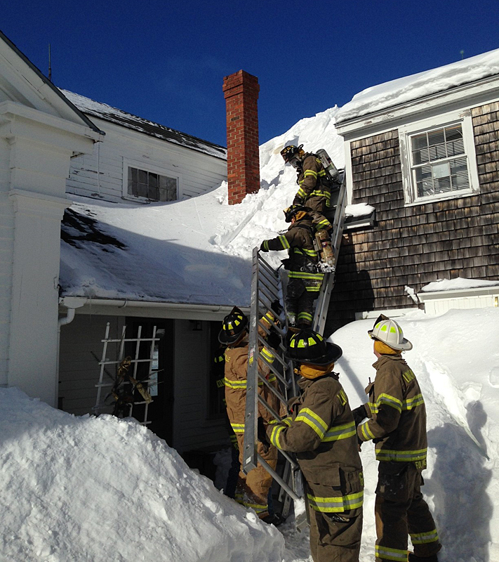 Lincolnville Chimney Fire Prompts Safety Message From