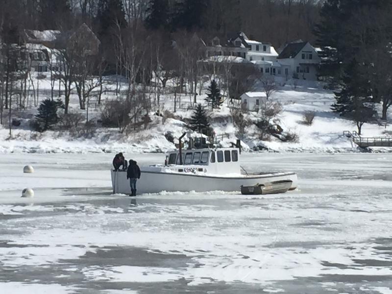 Rockport boat rescued from descent into davy jones locker for Davy jones locker fishing