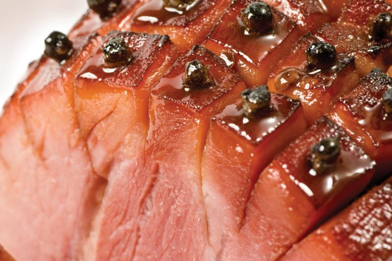 how to cook a boneless ham with pineapple