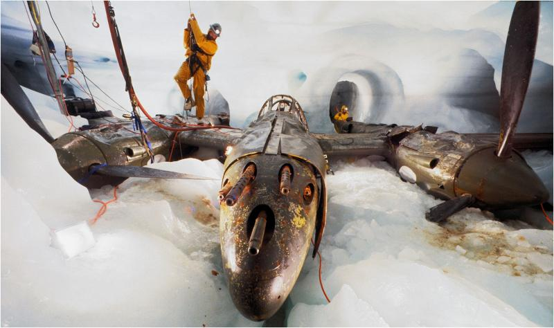 Lost Plane from WWII Found in Greenland's Bermuda Triangle