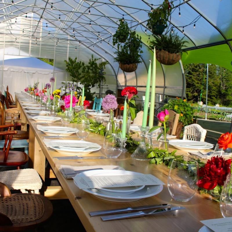 Point Lookout S Upcoming Farm To Table Dinner As Local As It