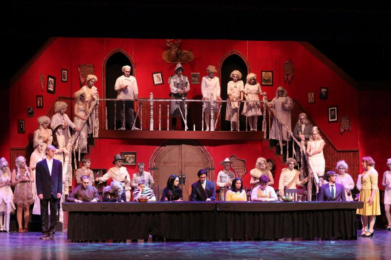 Addams Family stages at Camden Hills Regional High School ...
