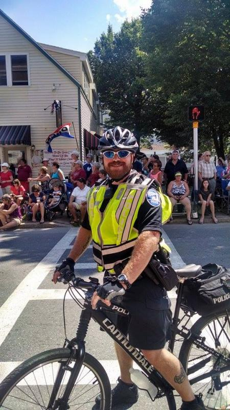 Image result for Rockland Maine Police Bike officer