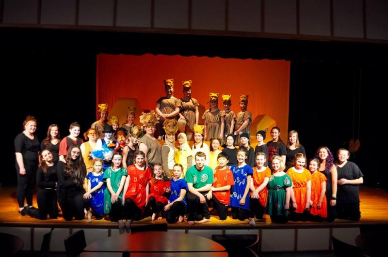 Lion King Jr. presented by the Troy Howard drama club ...