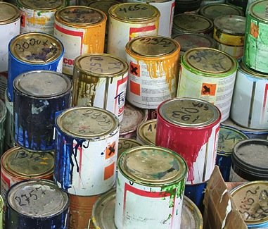 Can I Throw Paint Tins In The Skip