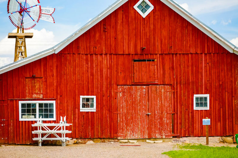 Why Are Old Barns Always Painted Red Penbay Pilot