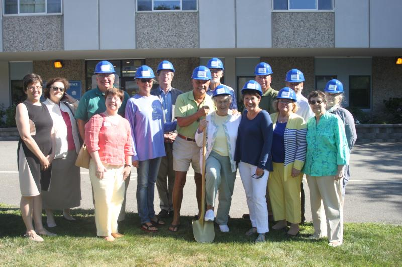 Carmel Kitchen Expansion: MCH Kitchen Appeal Committee Breaks Ground For Kitchen