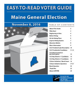 voter s guides to the maine initiatives marijuana education tax