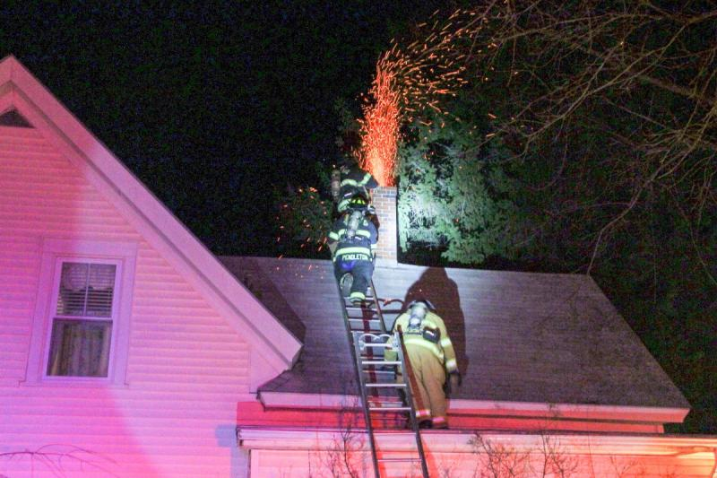 Rockland Fire Called To Quell Chimney Fire On Suffolk