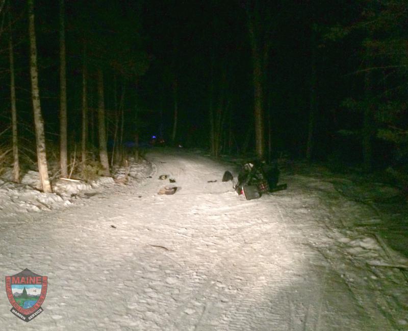 MA woman killed in snowmobile crash in Maine