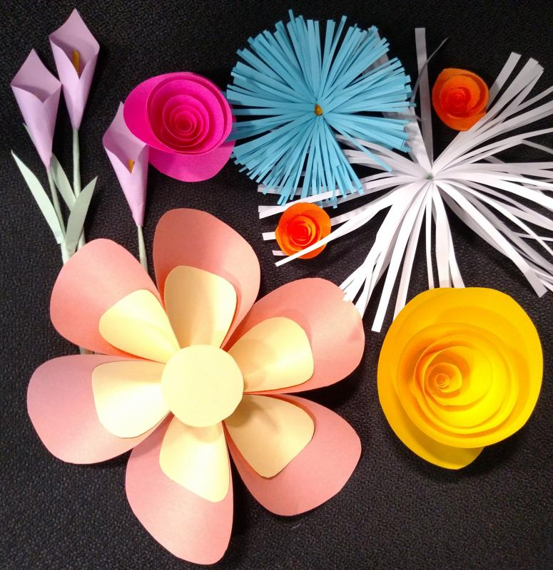 Free craft project in rockland paper flowers penbay pilot rockland join miss katie at rockland public library on thursday june 8 at 345 pm to learn how to make paper roses calla lilies daisies and more mightylinksfo
