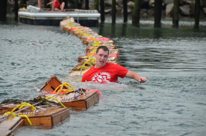 Fire, EMS, Coast Guard race the crates during Lobster Festival | PenBay Pilot