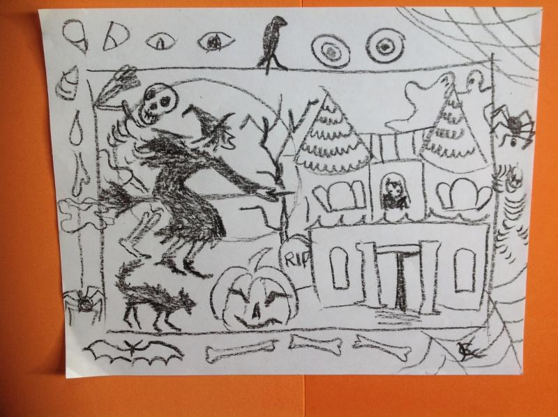 Children And Those Young At Heart Will Explore Fall Halloween Themes In The Ongoing Drawing Classes Led By Catinka Knoth Rockland Public Library
