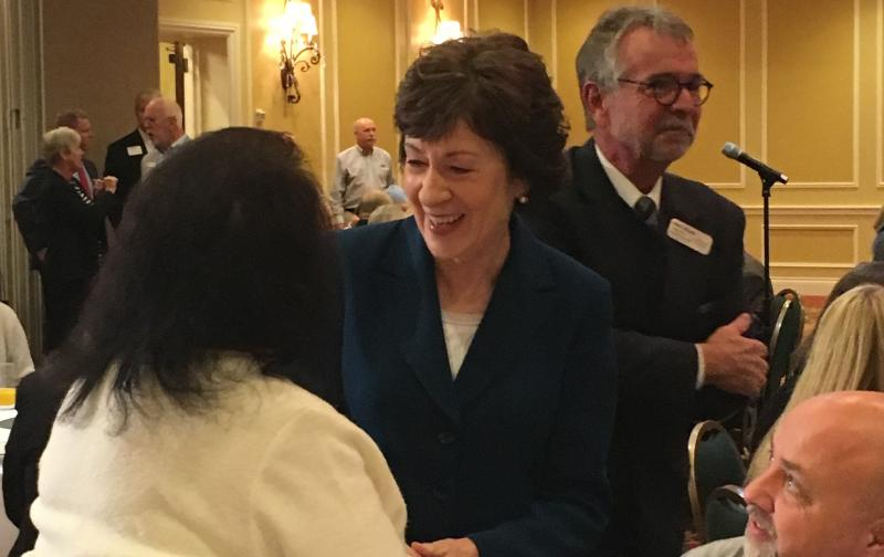 Maine's Susan Collins Says She's Staying in US Senate