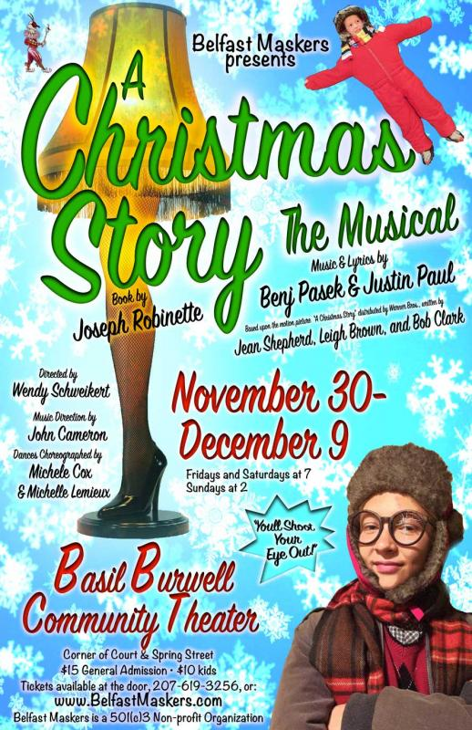 Christmas Story Location.Belfast Maskers To Perform A Christmas Story The Musical