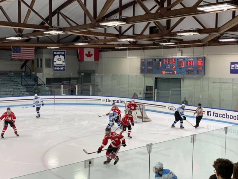 Camden Hills Ice Hockey Eliminated In Regional Semifinals Penbay Pilot