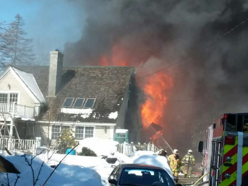 St George Home A Total Loss But Still Standing After Afternoon