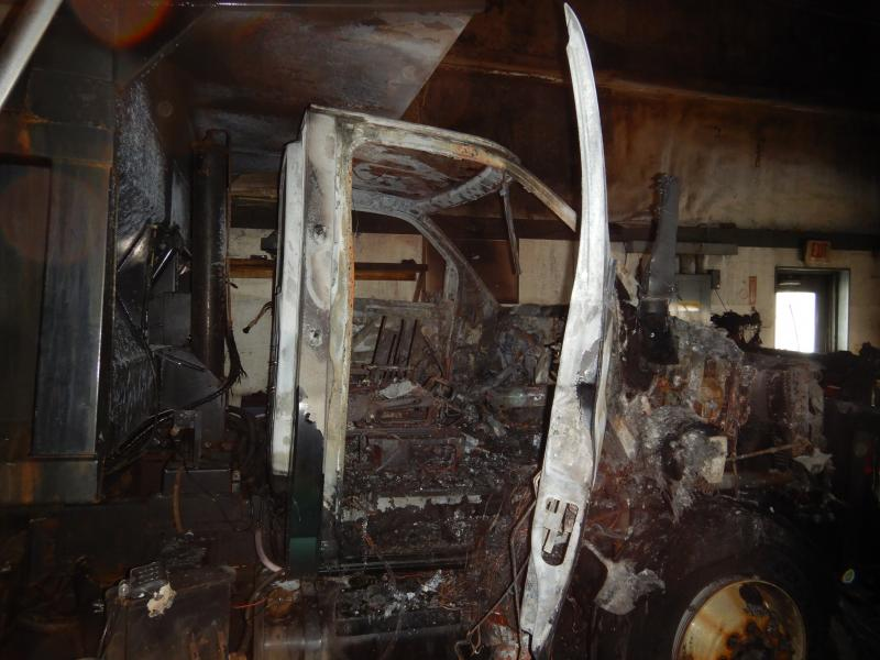 Update Cause Of Fire At Union S Town Garage Determined Penbay Pilot