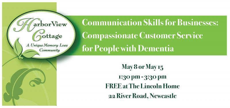 Lincoln Home Harborview Cottage Demential Care Learn Communication Skills