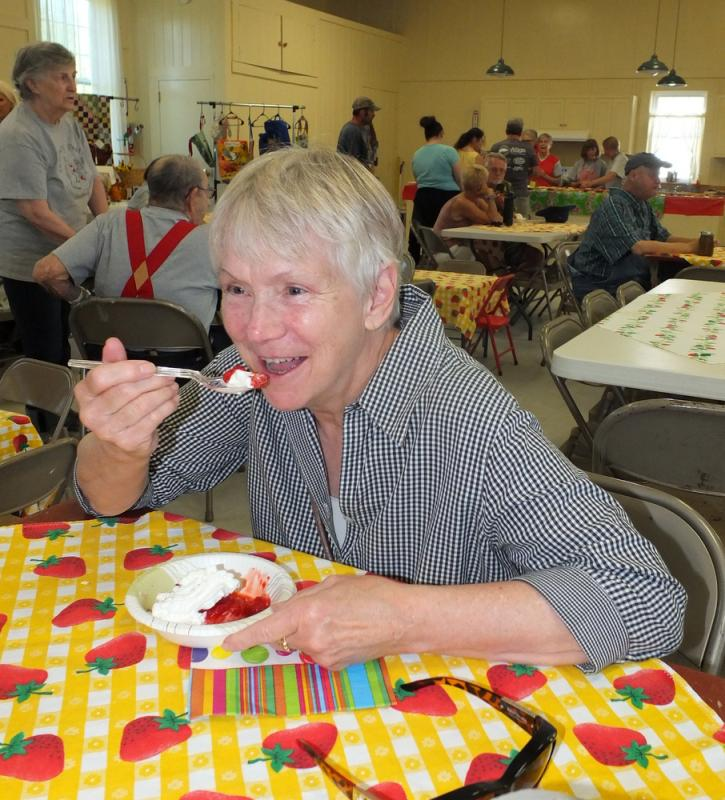Lincolnville S Strawberry Festival In Pictures Penbay Pilot