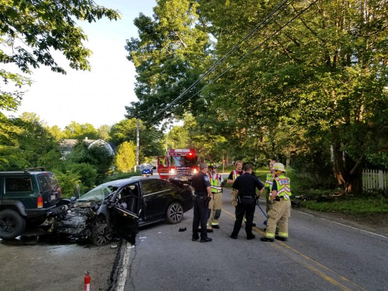UPDATE: Driver in early morning Camden crash taken by Life