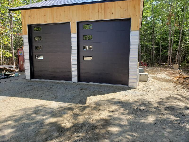 New Garage Doors Installed In Bar Harbor Maine Penbay Pilot