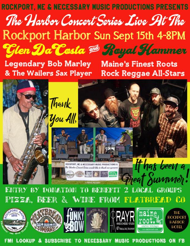 Harbor Concert series 2019 wraps up with Reggae's Royal