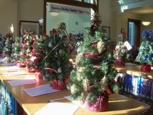Annual Festival of Trees silent auction at Rockland Public Library - PenBayPilot.com