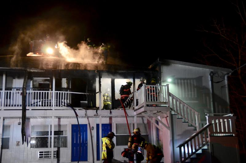 Family of man who perished in fatal fire at Rockport motel files lawsuit