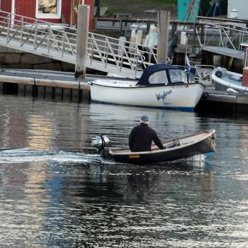 Camden Harbor Skiff Boat
