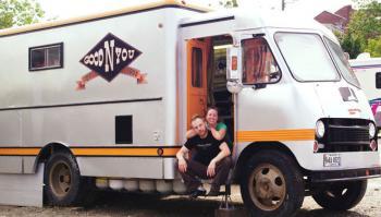 food truck, Belfast