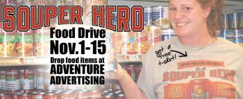 Souper Hero Food Drive To Begin Today Penbay Pilot