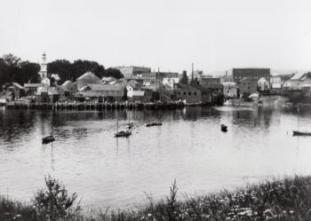 Camden harbor, 1897
